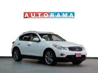 Used 2014 Infiniti QX50 NAVIGATION LEATHER SUNROOF 4WD BACKUP CAMERA for sale in North York, ON