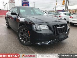 Used 2017 Chrysler 300 S | LEATHER | CAM | ONE OWNER | AWD for sale in London, ON