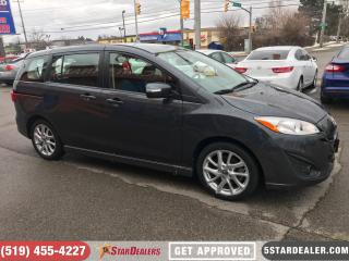 Used 2017 Mazda MAZDA5 GT | LEATHER | ROOF | ONE OWNER for sale in London, ON