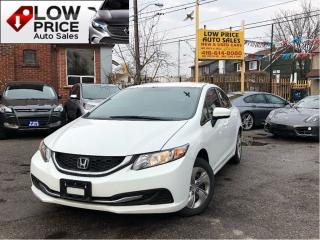 Used 2014 Honda Civic AllPwrOpti*HtdSeats*Bluetooth*&HondaWarranty* for sale in York, ON