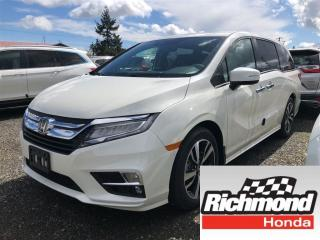 New 2018 Honda Odyssey Touring for sale in Richmond, BC