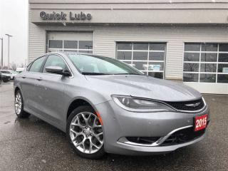 Used 2015 Chrysler 200 C**ALL WHEEL DRIVE**ADAPTIVE CRUISE** for sale in Mississauga, ON