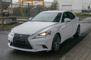 Used 2014 Lexus Is 350 AWD F Sport Loaded F Sport Series 3 Package for sale in Langley, BC