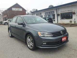 Used 2015 Volkswagen Jetta TDI HIGHLINE for sale in Waterdown, ON