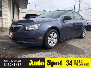 Used 2013 Chevrolet Cruze LS/1 OWNER/PRICED-QUICK SALE ! for sale in Kitchener, ON