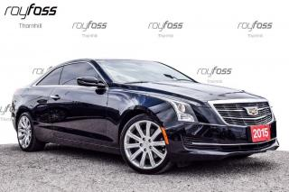 Used 2015 Cadillac ATS AWD CUE Rear Cam Bluetooth Remote Start for sale in Thornhill, ON