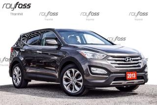Used 2013 Hyundai Santa Fe Sport SE Sunroof AWD Tow Pkg Leather for sale in Thornhill, ON
