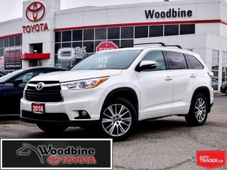 Used 2016 Toyota Highlander XLE PUSH BUTTON START, NAVIGATION, for sale in Etobicoke, ON
