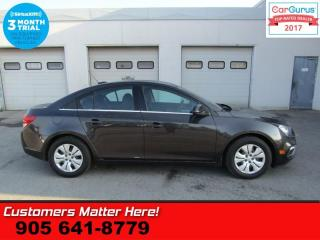 Used 2016 Chevrolet Cruze Limited LT w/1LT  REAR VIEW CAMERA SOUND SYSTEM for sale in St Catharines, ON