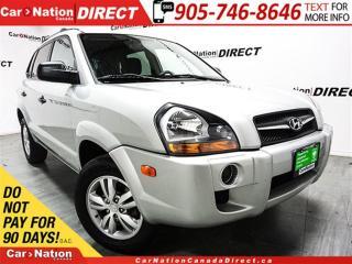 Used 2009 Hyundai Tucson | HEATED SEATS| LOCAL TRADE| OPEN SUNDAYS| for sale in Burlington, ON