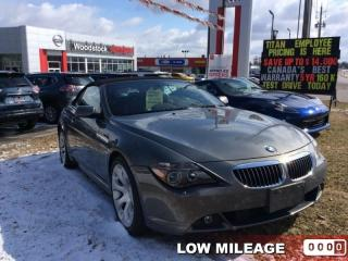 Used 2005 BMW 6 Series 645Ci  - a former us vehicle - $467.45 B/W for sale in Woodstock, ON
