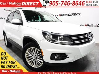 Used 2016 Volkswagen Tiguan Special Edition| AWD| BACK UP CAMERA| PUSH START| for sale in Burlington, ON