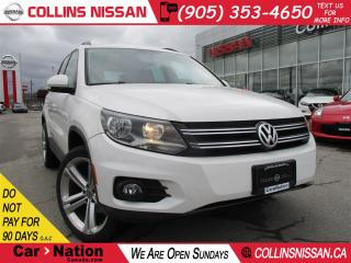 Used 2014 Volkswagen Tiguan Trendline | ALLOYS | BLUETOOTH | HTD SEATS for sale in St Catharines, ON