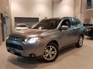 Used 2014 Mitsubishi Outlander GT AWD **LEATHER-ROOF-CAMERA** for sale in York, ON