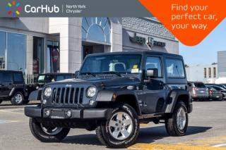 New 2018 Jeep Wrangler JK NEW CAR Sport 4x4|LightingPkg|Sat.Radio|AirConditioning|17