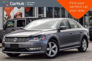 Used 2015 Volkswagen Passat Comfortline TDI|Diesel|Sunroof|Keyless_Entry|Heat Frnt.Seats for sale in Thornhill, ON