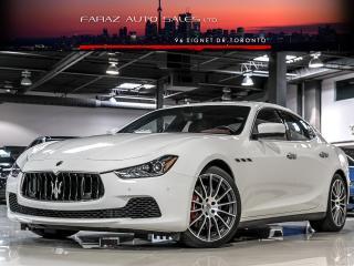 Used 2016 Maserati Ghibli S Q4|BLIND SPOT|NAVI|REAR CAM|20