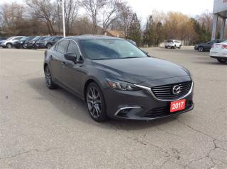 Used 2017 Mazda MAZDA6 GT...ONE OWNER...CLEAN CARPROOF...IMMACULATE for sale in Milton, ON