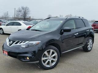 Used 2014 Nissan Murano PLATINUM AWD w/all leather,NAV,climate ctrl,rear cam,heated seats for sale in Cambridge, ON