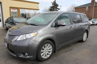 Used 2014 Toyota Sienna LIMITED for sale in Brampton, ON