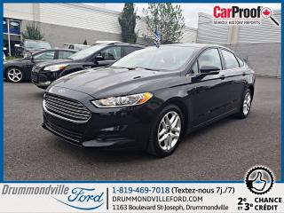 Used 2015 Ford Fusion SE 2,5L Garantie jusqu'en 2020 for sale in Drummondville, QC
