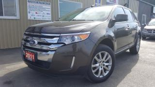 Used 2011 Ford Edge SEL-V6-AWD-LEATHER-PAN ROOF-BACK UP CAMERA for sale in Tilbury, ON