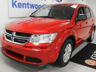 Used 2014 Dodge Journey Canada Value Pkg FWD in radiant red for sale in Edmonton, AB