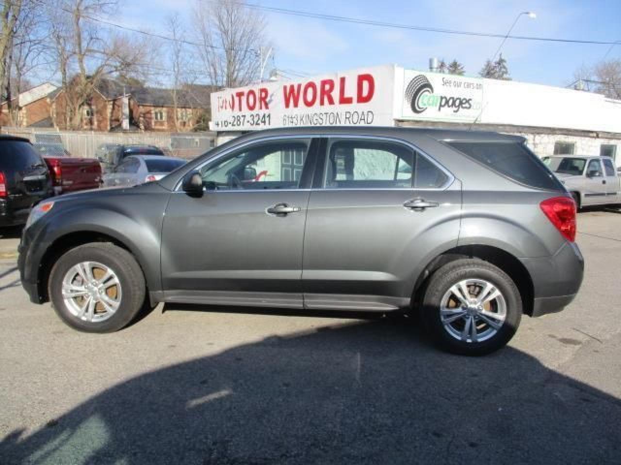 Photo of Gray 2011 Chevrolet Equinox