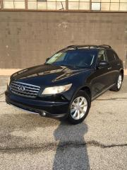 Used 2006 Infiniti FX35 CERTIFIED - FULLY LOADED for sale in North York, ON