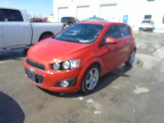 Used 2012 Chevrolet SONIC (CANADA) LT for sale in Innisfil, ON