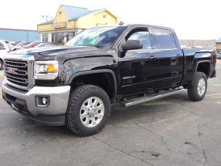 Used 2015 GMC Sierra 2500 SLE CrewCab 4X4 6.0L 6.6ft Box for sale in Brantford, ON