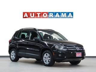 Used 2015 Volkswagen Tiguan 4WD BLUETOOTH AUX for sale in North York, ON