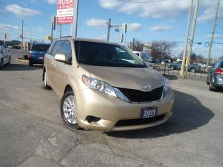 Used 2011 Toyota Sienna AUTO AWD REAR CAMERA POWER SLIDDING SAFETY ALLOY A for sale in Oakville, ON