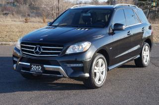Used 2012 Mercedes-Benz ML 350 BlueTEC Diesel Nav-BackUp Camera DVD Loaded. for sale in North York, ON