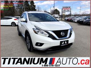 Used 2015 Nissan Murano SL+AWD+360 Camera+GPS+Pano Roof+Blind Spot+R.S.+XM for sale in London, ON