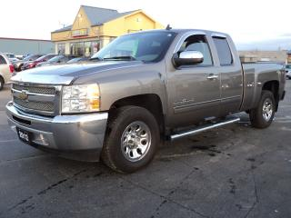 Used 2012 Chevrolet Silverado 1500 LS ExtCab 4X4 4.8L Cheyenne Edition for sale in Brantford, ON