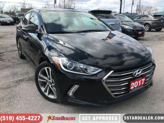 Used 2017 Hyundai Elantra Limited | LEATHER | NAV | ROOF | CAM for sale in London, ON