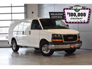 Used 2017 GMC Savana 2500 Work Van - RWD, Back Up Cam, Vinyl Floor, Posi-Tra for sale in London, ON