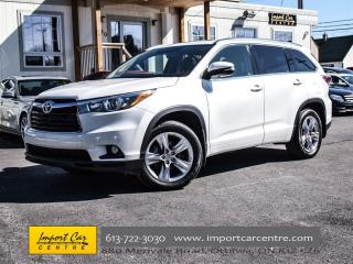 Used 2015 Toyota Highlander Limited LEATHER NAVIGATION PANORAMIC ROOF JBL for sale in Ottawa, ON