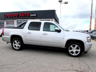 Used 2011 Chevrolet Avalanche LT CREW CAB 4WD CAMERA LEATHER CERTIFIED 2YR WARRANTY for sale in Milton, ON
