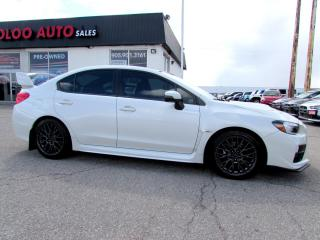 Used 2016 Subaru WRX STI STI Sport Camera Sunroof Certified Warranty for sale in Milton, ON