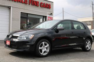 Used 2015 Volkswagen Golf 2.0L TDI Comfortline. Leather. Roof for sale in North York, ON