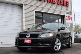 Used 2013 Volkswagen Passat 2.5L Comfortline. Leather. Roof for sale in Toronto, ON
