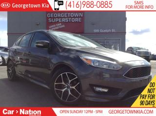 Used 2015 Ford Focus SE | BACK UP CAMERA | HEATED SEATS | SPORT ALLOYS for sale in Georgetown, ON