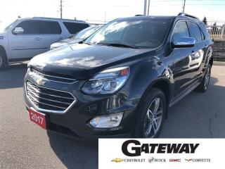 Used 2017 Chevrolet Equinox TRUE NORTH, AWD, NAV, ROOF, HTD LEATHER! for sale in Brampton, ON