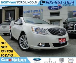Used 2013 Buick Verano LEATHER | REAR CAM | HTD WHEEL  | REMOTE START | for sale in Brantford, ON