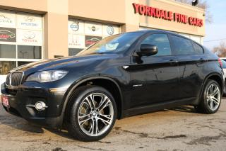 Used 2012 BMW X6 xDrive35i Sport Pkg, Navigation. Camera. Lane Assist. 360 Cam for sale in North York, ON