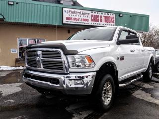 Used 2012 Dodge Ram 3500 Laramie CUMMINS DIESEL!! LEATHER!! NAVIGATION!! REVERSE CAMERA & MORE!! for sale in Bolton, ON