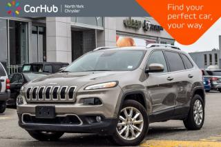 Used 2017 Jeep Cherokee Limited AWD|SafetyTec,Technology Pkgs|BlindSpot|Keyless_Go for sale in Thornhill, ON