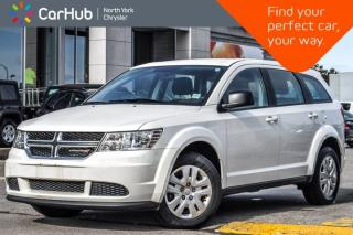 Used 2015 Dodge Journey CVP |KeylessGo|DualClimate|AC|AccidentFree|GreatDeal| for sale in Thornhill, ON